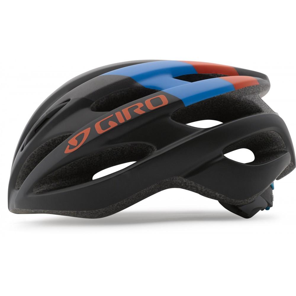 Велошлем детский Giro Tempest матовый черный /Glowing красно-синий, Uni (50-57) (GT)