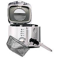 Фритюрница DSP KB 2002 на 1,5л аппарат для жарки во фритюре