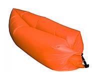 Надувной матрас-гамак Ламзак Original 2,2м. Оранжевый
