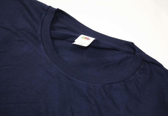 Глубоко тёмно-синяя мужская Iconic футболка