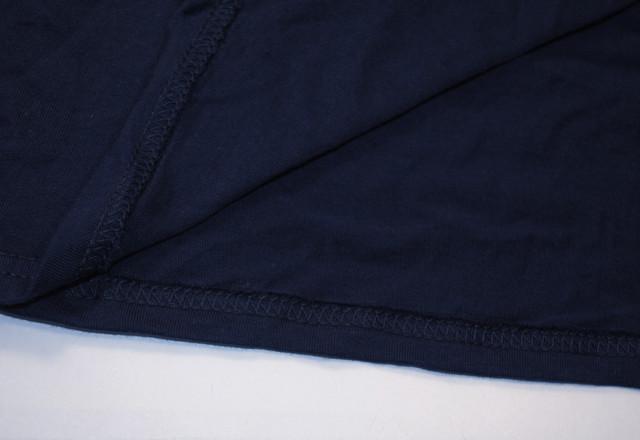 Глубоко тёмно-синяя мужская футболка Iconic