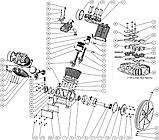 Вкладыш шатуна, компрессора (Aircast LT100NV) запчасти, фото 2