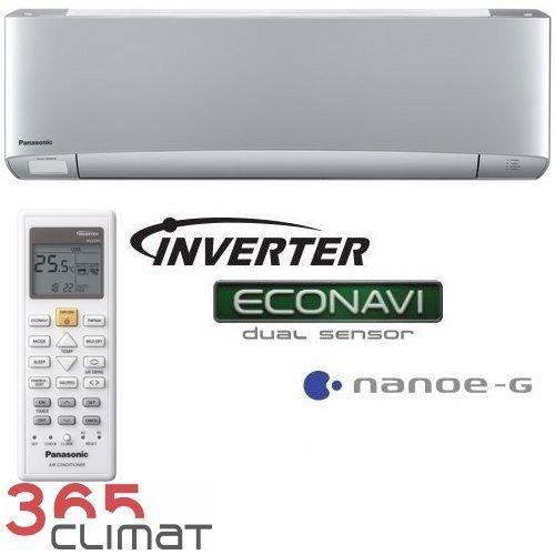 Panasonic Inverter Мульти-сплит Внутренние настенные блоки Etherea Silver (-15°C)