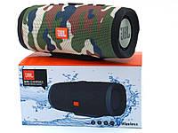 JBL mini Charge 3 20W Squad копия, портативная колонка с Bluetooth FM MP3, камуфляжная
