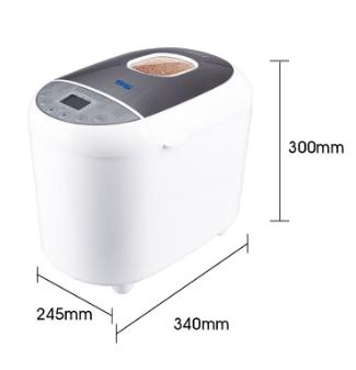 Хлебопечка настольная DSP KC 3011 электрическая с ЖК-дисплеем кухонная