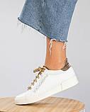 36 39 40! Нереально классные белые кожаные женские кеды Dolce&Gabbana, фото 3