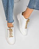 36 39 40! Нереально классные белые кожаные женские кеды Dolce&Gabbana, фото 4