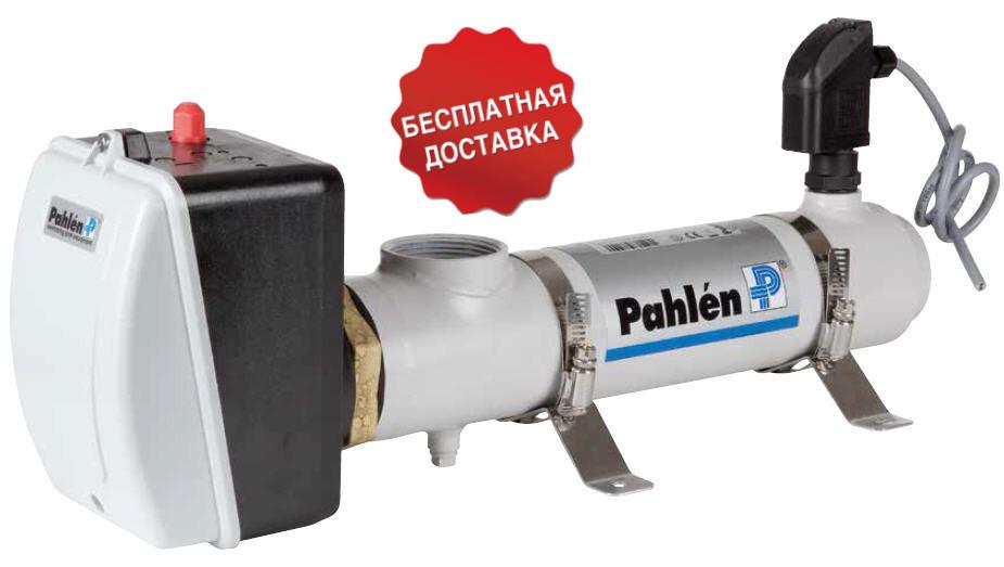 Электронагреватель Compact Titan Pahlen 9 кВт нержавейка / титан