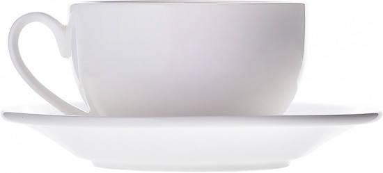 Чашка с блюдцем для чая Wilmax 250 мл WL-993000/AB, фото 2