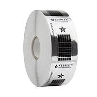 Формы для наращивания ногтей Starlet Professional, узкие серебряные, 500 шт