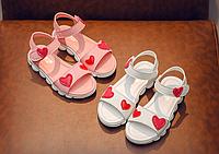 e8145b20f8cf84 Модні сандалі для дівчинки / повседневные летние сандалии для девочек,  нескользящая обувь с мягкой подошвой