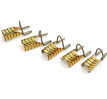 Многоразовые формы для наращивания 5 шт (Золото)