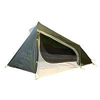 Сверхлегкая одноместная палатка Tramp Air 1 Si TRT-093-green темно-зеленая