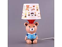 Светильник с абажуром Fashion Lamp Мишка 32 см 39-222