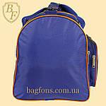 Дорожная спортивная сумка синяя  EVERLAST -40л., фото 6