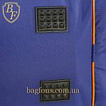 Дорожная спортивная сумка синяя  EVERLAST -40л., фото 7