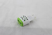Зарядний пристрій 220В USBx2 mod-005