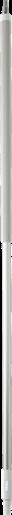 Ергономічна алюмінієва ручка з подачею води, 1565 мм, Vikan (Данія)
