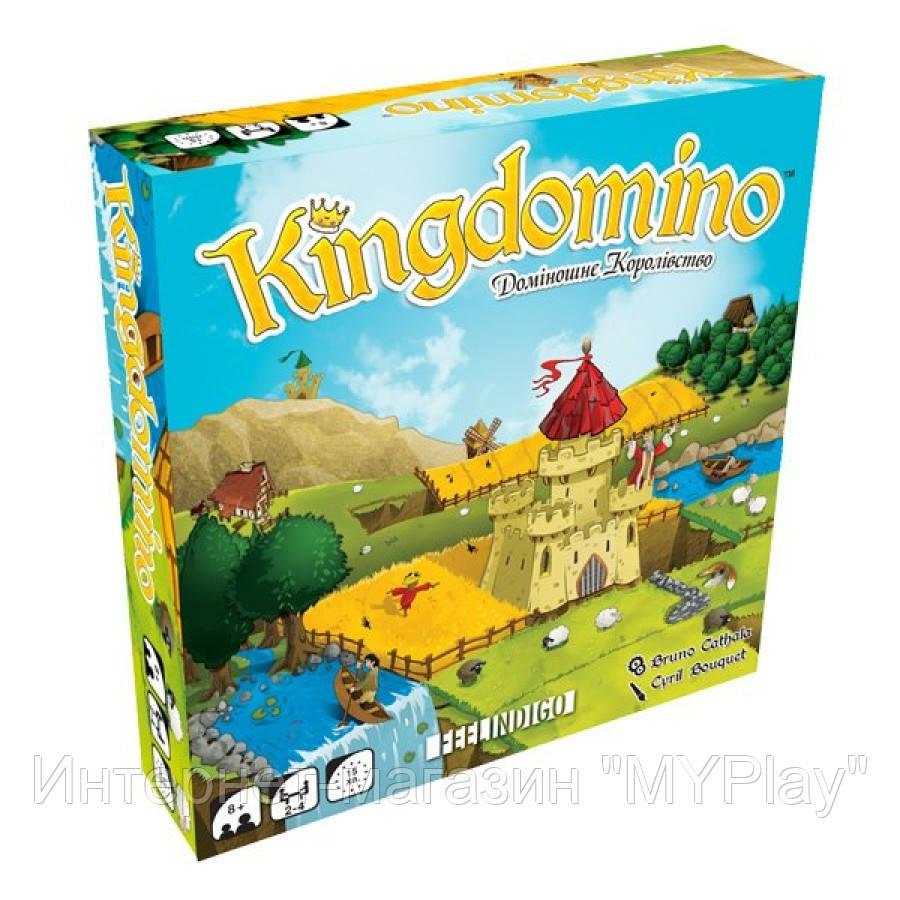 FEELINDIGO Настольная игра 'Kingdomino. Доміношне королівство';8+