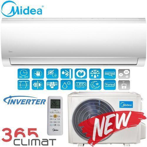 Midea Blanc Inverter New 2018 (-15°C)