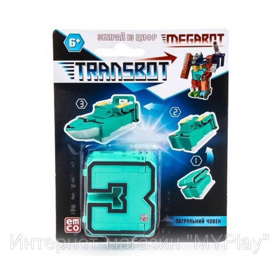 TRANSBOT Игрушка трансформер 12шт в асорт-те
