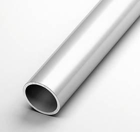 Труба алюминиевая круглая Braz Line 8х1.0 мм анод серебро 2 м