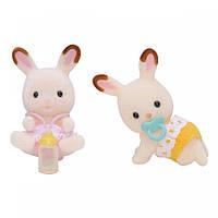 SYLVANIAN Набор Шоколадные Кролики-двойняшки арт. 3217, фото 1