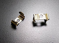Металлический крепеж для накладного алюминиевого профиля ХН-075.