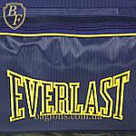 Дорожная спортивная сумка синяя  EVERLAST -75л., фото 4