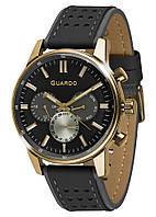 Чоловічі наручні годинники Guardo P007576 GBB
