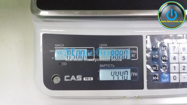 Весы настольные торговые PR-15 II В