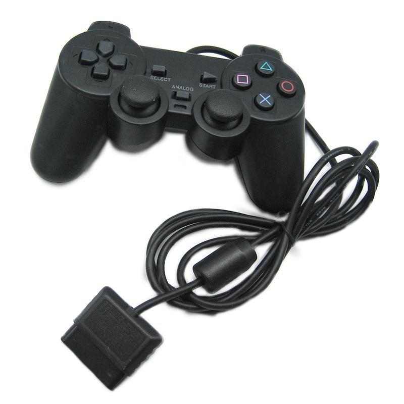 Джойстик USB PS2, джойстик с вибрацией, Usb джойстик для ПК проводной