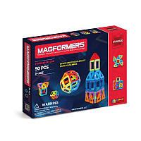 Magformers. Магнитный конструктор Базовый набор, 50 эл.