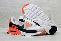 Кроссовки мужские белые с оранжевым Nike Air Max 5497, фото 1