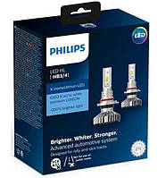 Автолампы  PHILIPS  LED HB3/HB4 X-treme Ultinon +200%