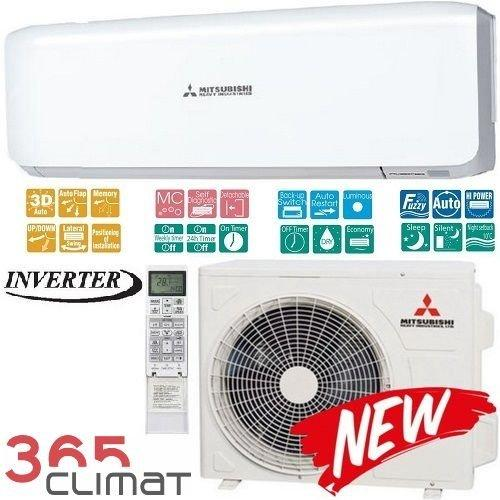 Кондиционер- Mitsubishi Heavy Inverter (-15°C)