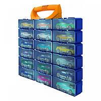 MATTEL HOT WHEELS Игровой контейнер на 18 машинок