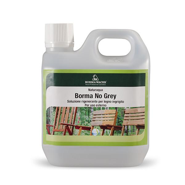 Засіб для відновлення кольору деревини, No Grey, Borma Wachs, Exteriors Line, 1 літр