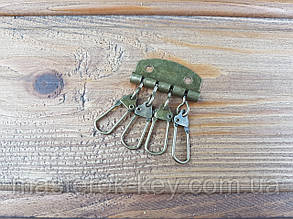 Карабины для ключницы на 4 шт цвет Антик