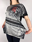 Женская футболка Батал Оптом, фото 2