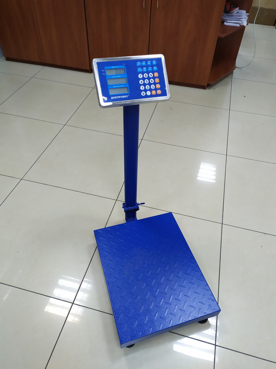 Весы товарные Днепровес ВПД 405ДЛ (60 кг, 150 кг, 300 кг)