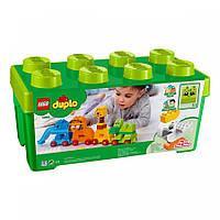 Конструктор LEGO DUPLO Коробка с кубиками мое первое животное