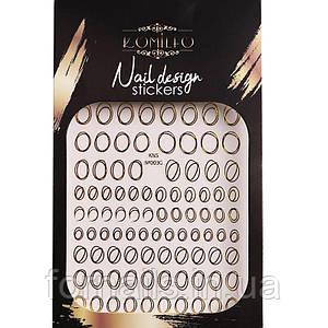 Komilfo Nail Design Sticker №G003
