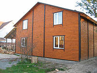 Деревянно-каркасный дом 6х10