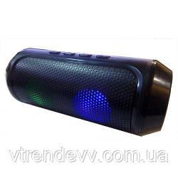 Колонка портативная Music speaker Q610 c LED подсветкой 6W