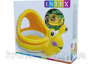 """Бассейн Intex 57124 """"Улитка"""" 145-102-44см., фото 3"""