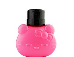 Пластиковая емкость для жидкости Hello Kitty, 300 мл