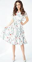 Платье TEFFI style-1403-1 белорусский трикотаж, магнолия, 50