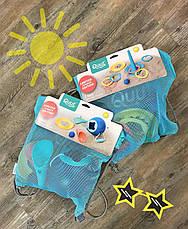 Набір для пляжу (міні ведерко+совочки+чарівна формочка+сумка) QUUT 170983, фото 2