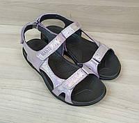 Кожаные сандалии на липучках Mante Xbiom лето в стиле ЕССО